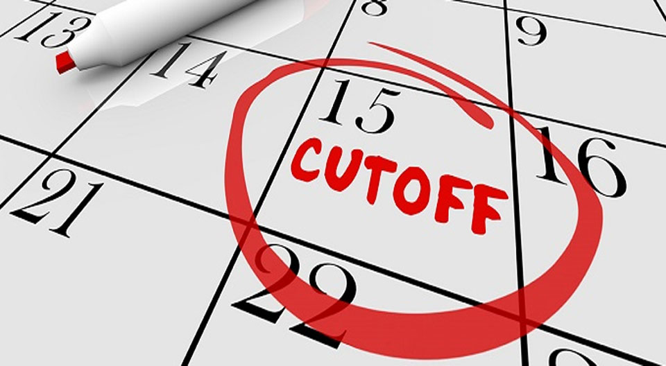 Cut-off for medical college
